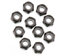 Axial Racing M3 Nylon Locking Hex Nut (Black)(10 pcs)