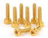 Aluminium Light Weight Screw for Wheel Ext 8 pcs