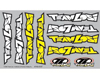 """Team Losi"" Logo Sticker Sheet (Die Cut)"