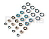 Xray XB808'2009 Ball Bearings Set - 26 pcs